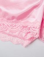 VWIWV Women Sleeveless Lace Crop Top Camisole and Shorts Pajamas Sleepwear Set at Women's Clothing store