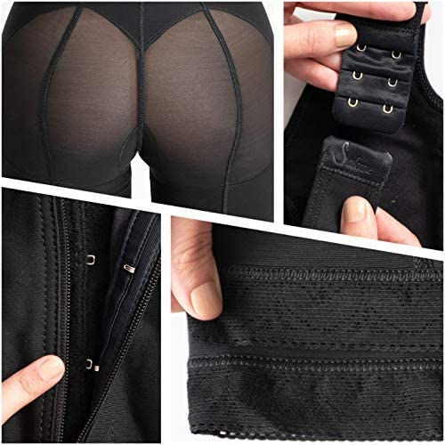 Fajas Reductoras y Moldeadoras Colombianas Levanta Cola Post Surgery Compression Garments After Liposuction at Women's Clothing store