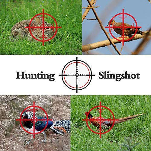 JueDi Hunting Slingshot with Ammo Balls and 3 Rubber Bands Professional Slingshot Set Velocity Catapult for Children Kids Adult : Sports & Outdoors
