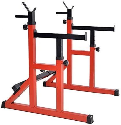 Aoligei Pull Up Bar Squat Rack, Bench Multifunctional Press Adjustable Bracket, Adjustable Squat Rack, Squat Stands Rack Barbell Free Press Bench, Strength Training Fitness Barbell: Home & Kitchen