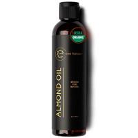 USDA Certified Organic Castor Oil - Hair Growth Oil with Vitamin E for Longer Eyelashes, Eyebrows, and Hair - 2 Ounces - Eve Hansen: Beauty