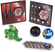 Bakugan Starter Pack 3-Pack, Trunkanious, Collectible Action Figures, for Ages 6 and Up: Toys & Games