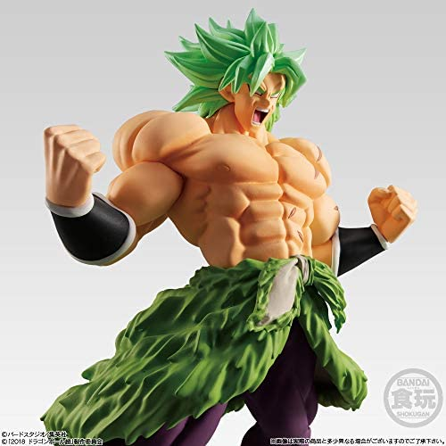 Bandai Shokugan Styling Super Saiyan Broly Full Power Dragon Ball Super: Toys & Games
