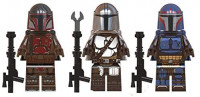 FortGear New Space Warrior Toy Figures Set - Deluxe Action Heroes from Epic Space Saga - Gift for Boys and Girls (Mand'alor Set): Toys & Games