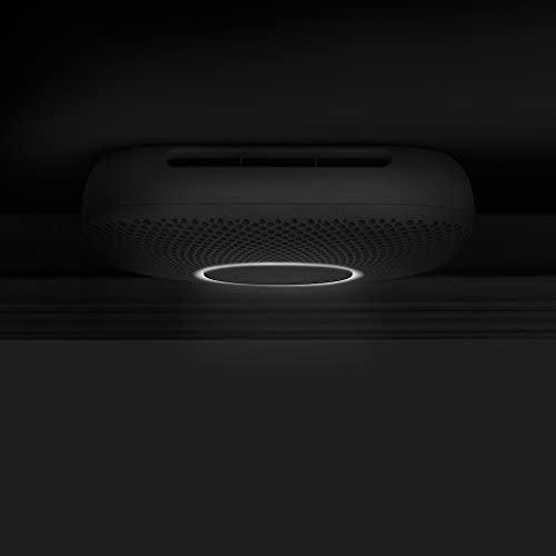 Google Nest Protect Smoke + Carbon Monoxide Alarm, S3000BWES, 2nd Gen, Battery