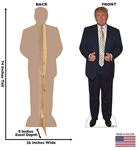 Donald Trump - Advanced Graphics Life Size Cardboard Standup: Home & Kitchen