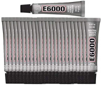 E6000 Adhesive .018oz Tubes (25 Pack): Office Products
