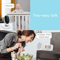 """Motorola Comfort 50-2 Video Baby Monitor 5"""" LCD Color Display and 2 Cameras with Digital Zoom, Two-Way Audio, Infrared Night Vision and 5 Soothing Lullabies : Baby"""