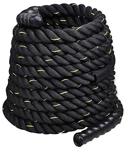 MEITA 1.5 Inch Polyester 40ft Battle Rope Exercise Workouts Strength Training Undulation : Garden & Outdoor