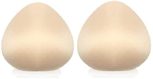 1 Pair Cotton Breast Forms Light Ventilation Sponge Boobs for Women Mastectomy Breast Cancer Support by Ninery Ave at Women's Clothing store