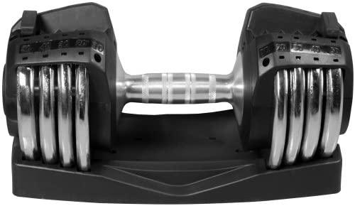 XMark 50 lb. Adjustable Dumbbell : Sports & Outdoors
