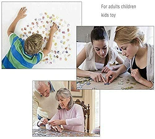 Jigsaw Puzzle 1500 Piece Wooden Puzzle Blue Sky Field Unique Home Decorations and Gifts Challenging Adult and Teen Casual Jigsaw Puzzle: Toys & Games