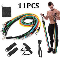 Gardenjoy Resistance Bands Set, Exercise Bands with Door Anchor, Handles, Waterproof Carry Bag, Legs Ankle Straps for Resistance Training, Physical Therapy, Home Workouts : Sports & Outdoors