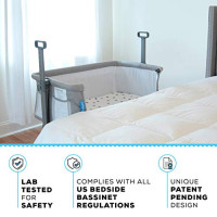 Milliard Side Sleeper Bedside Bassinet: Baby