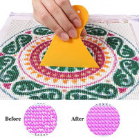 5D Diamond Painting Roller and Fix Tools, Unime Ideal Aligning Repair Pressing Accessories Tools for Full Drill Diamond Painting Kits for Adults (2 Pack)