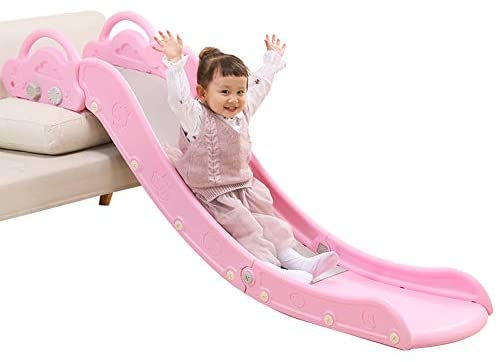 HAPPYMATY Sofa Slide for Toddler Plastic Lengthen Board Children First Slide Kids Indoor Playset for Over 18-Month-Old Baby Boys Girls: Toys & Games