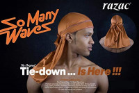 So Many Waves Durags For 360, 540, 720 Waves (Mesh Random Two-tone colors) : Beauty
