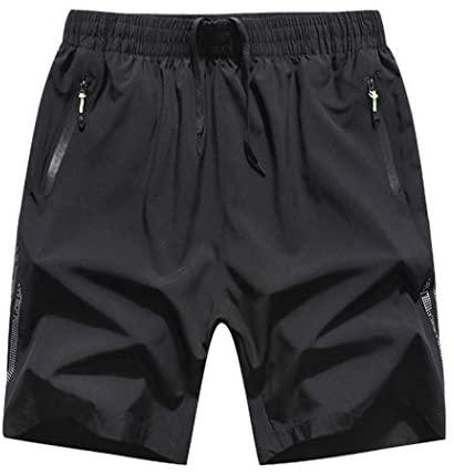 Modern Fantasy Men's Air Breath Running Sport Training Quick Dry Active Shorts Big Size: Clothing