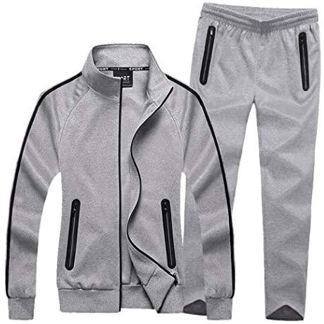 Modern Fantasy Women's Active Tracksuit Seamless Pocket Jogging Jacket & Pants Set at Women's Clothing store