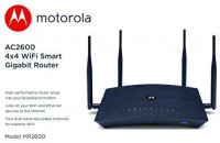MOTOROLA AC2600 4x4 WiFi Smart Gigabit Router with Extended Range, Model MR2600: Computers & Accessories
