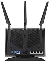 ASUS ROG (GT-AC2900) Dual-Band Wireless Gigabit Wi-Fi Gaming Router - GeForce Now Optimization with Triple-Level Game Acceleration, 4X LAN, 1X USB 3.0, 1X USB 2.0 Compatible with Aimesh: Computers & Accessories