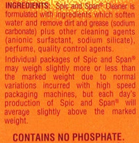 Spic and Span Extra Strength Powder Cleaner, Sun Fresh, 27-Ounces, 2-Pack: Health & Personal Care