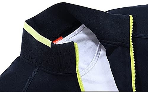 Modern Fantasy Men's Solid Sweatsuit Running Joggers Sports Jacket & Pants Tracksuit Big: Clothing
