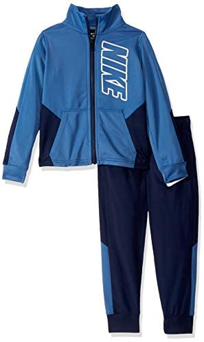 Nike Little Baby Boys' Tricot Track Suit 2-Piece Outfit Set, Game Royal,: Clothing