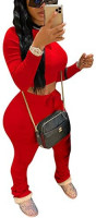 Womens Two Piece Tracksuit Set - 2 Pc Outfits Sweatsuits Jumpsuits at Women's Clothing store