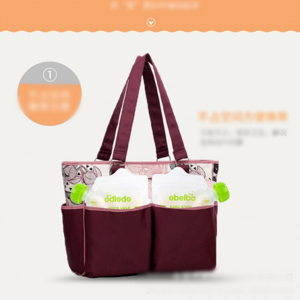 Lightweight Sterile Puree Bag Mouthpiece Baby Food Supplement Bag Reusable Easy To Carry Stand-up Pouch