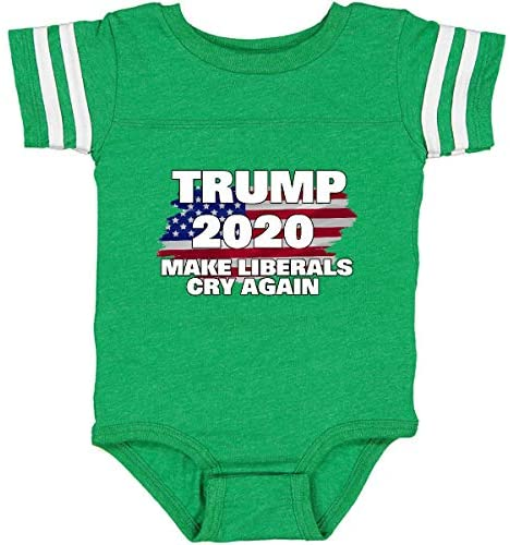 inktastic Trump 2020 Make Liberals Cry Again Infant Creeper: Clothing