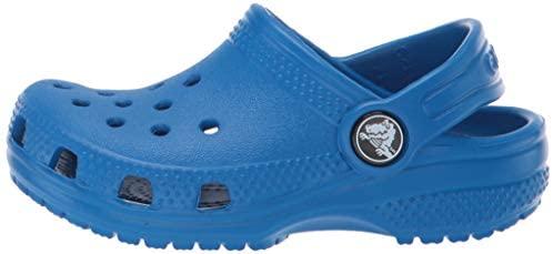 Crocs Kids Classic Clog | Slip On Boys and Girls | Water Shoes, Bright Cobalt, J3 | Clogs & Mules