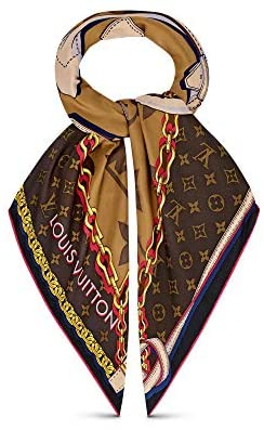 Louis Vuitton Tribute To Square Scarf at Women's Clothing store