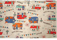 Bowery Direcsource Ltd Camping Tablecloth, Camping Trails: Home & Kitchen