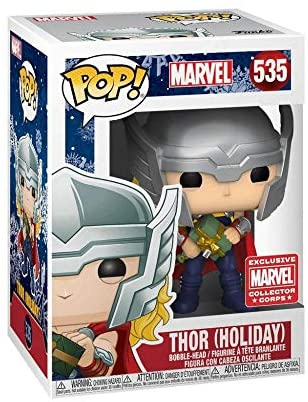 Funko Marvel Collector Corps Subscription Box, Marvel Holiday Theme, November 2019, XXL T-Shirt: Toys & Games