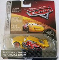 Disney Pixar Cars Die-cast Final Race Cruz With PVC Tires Vehicle: Toys & Games