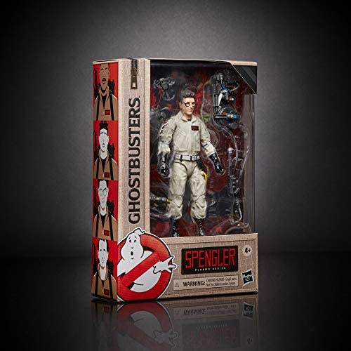 Hasbro Ghostbusters Plasma Series Egon Spengler Toy 6-Inch-Scale Collectible Classic 1984 Ghostbusters Action Figure, Toys for Kids Ages 4 and Up: Toys & Games