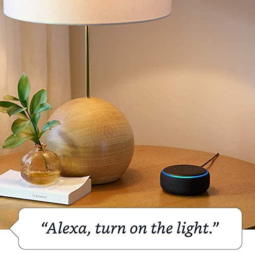 Echo Dot (3rd Generation) - Charcoal with 2 Smart Bulb Kit by Sengled: Devices