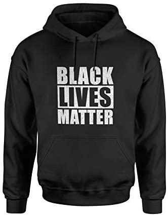 Black Lives Matter Hoodie - I Cant Breathe BLM Hooded Sweatshirt: Clothing