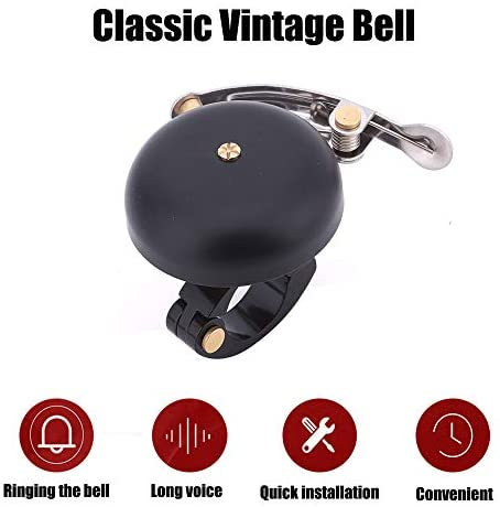 ZUKKA Bike Bell, Classic Brass Bicycle Ring Bell Horn Nice Loud Tone Cycling Accessories… : Sports & Outdoors
