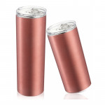 Skinny Tumbler Straight Cup 16oz20oz Stainless Steel Straw Cup Thin Thin Cup Thermos