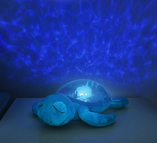Cloud b Tranquil Turtle Aqua Night Light and Sound Soother : Electronic Infant Sleep Aids : Baby