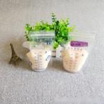 Self-Standing Milk Storage Bags or Breastfeeding