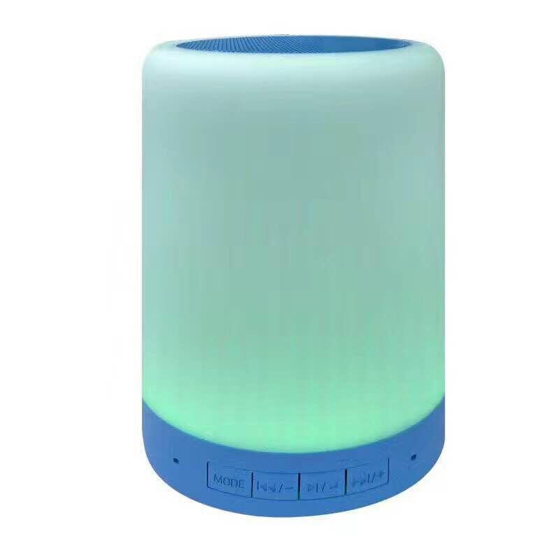 Portable Bluetooth Speaker with Night Light