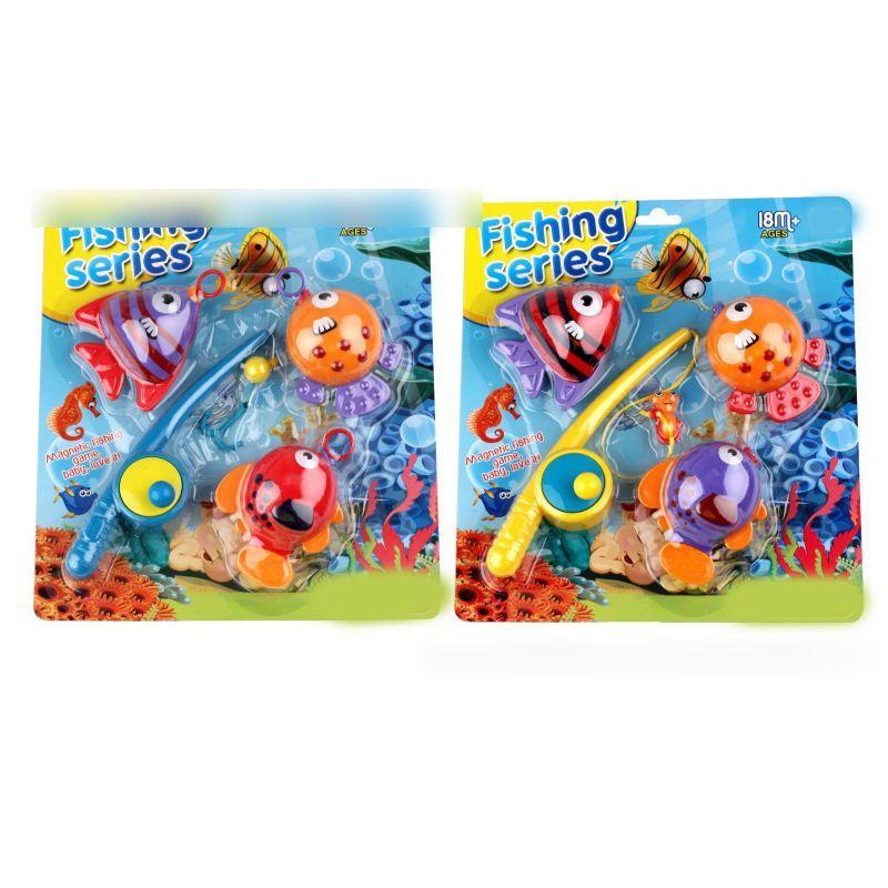 Infant Baby Bathing Bath Toys Summer Children's Bathroom Bath Fishing Floating Hand Toy