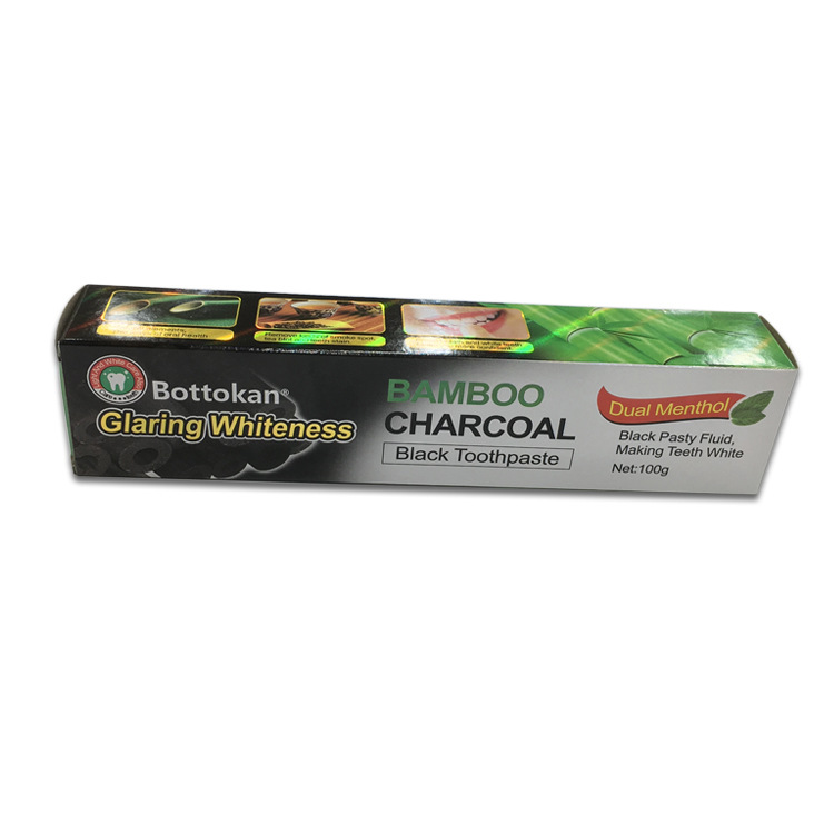 Glaring Whiteness Bamboo Charcoal Toothpaste