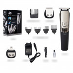 Waterproof Haircut Cut Nose Hair T-type Cutter Head Three-in-one Multi-function Rechargeable Hair Clipper
