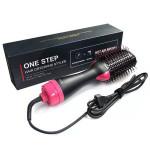Two-in-one Hair Dryer & Volumizer Hot Air Brush