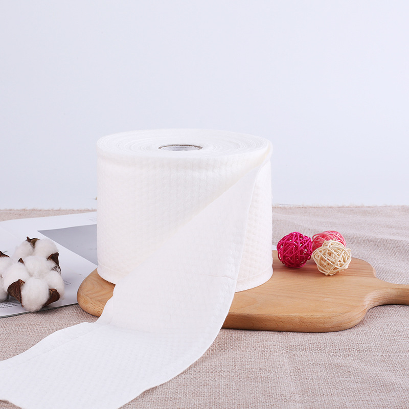 Biodegradable Cotton Towel Roll, Chemical Free, For Sensitive Skin