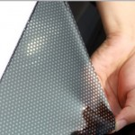 The Car Roller Blind Sunshades Protects UV Rays and Heat